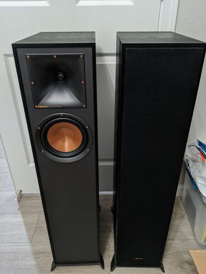 Klipsch R-610f Floor standing speakers (pair) for Sale in Tracy, CA