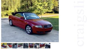 Audi A4 convetable for Sale in Indianapolis, IN