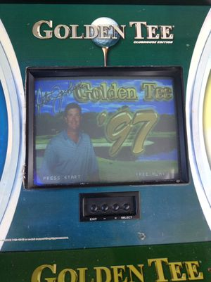 Golden tee 97 game for Sale in Saint Petersburg, FL