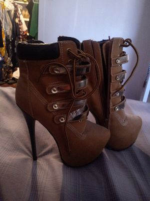 Brand new work heel boots for Sale in North Las Vegas, NV