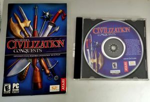 Sid Meirs Civilization Conquests PC Game for Sale in Lacey, WA