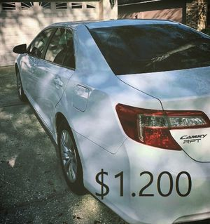 🍁I sell my car 2013 Toyota Camry Runs and drives great! Clean title Full Price $1.200🍁 for Sale in Houston, TX