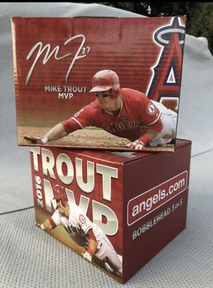 Mike Trout bobble head for Sale in Anaheim, CA