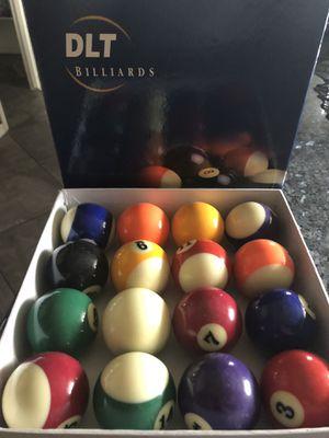Billiards Ball Set for Sale in Laveen Village, AZ