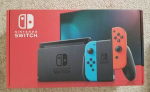 BRAND NEW Nintendo Switch newest version Blue Red Joy-Cons System for Sale in Denver, CO