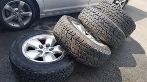 Courser Tires with Dodge rims for Sale in Columbus, OH