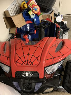 Spider man two seater car for Sale in San Jose, CA