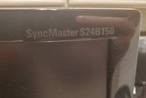 Samsung HD S24B150BL 23.6-Inch Screen LED-Lit Computer Monitor for Sale in Glendale, CA