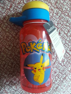 POKEMON WATER BOTTLE WITH STRAW $6 EACH ✔✔✔PRICE IS FIRM✔✔✔✔ for Sale in Cudahy, CA
