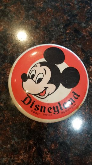 """Vintage Disneyland Souvenir Pin MICKEY 3.5"""" W Disney Productions for Sale in Feasterville-Trevose, PA"""