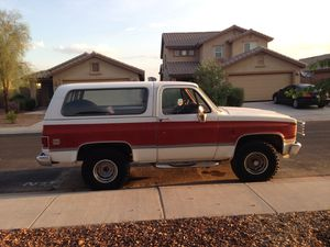 Chevy Blazer 1982 K 5. 4X4 for Sale in Maricopa, AZ