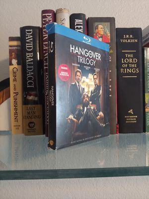 Hangover Trilogy Blu ray Set *Complete* Movies* for Sale in Phoenix, AZ
