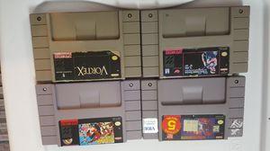 Super Nintendo lot 5 for Sale in Chicago, IL