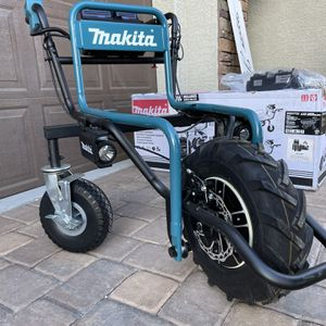 Brand New, Makita 18-Volt X2 LXT Lithium-Ion Brushless Cordless Power-Assisted Wheelbarrow (Tool Only) for Sale in Nellis Air Force Base, NV