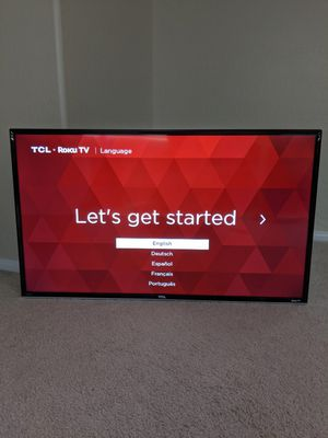 TCL Roku TV 40 inch Smart TV with Remote for Sale in Henderson, NV