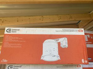 """6"""" downlight housing pack of 6 for Sale in Dallas, TX"""