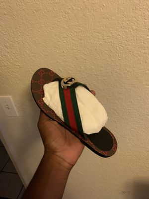 Gucci slides never worn size 7 in women for Sale in Stockton, CA