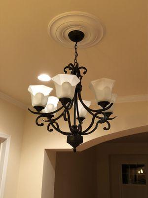 6 light chandelier for Sale in Washington, DC