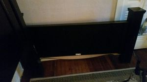 All Black Bed Frame with Drawers for Sale in Johnson City, NY