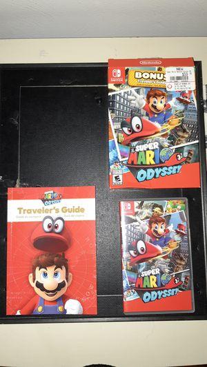 Super Mario Odyssey - nintendo switch for Sale in Oakdale, PA