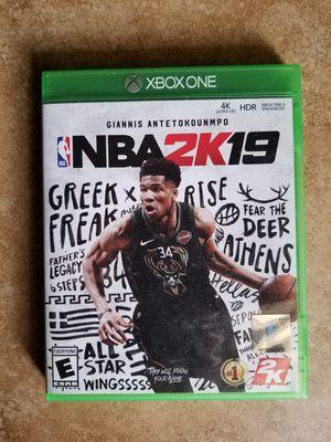 NBA2K19 - $20 for Sale in Phoenix, AZ