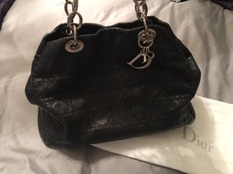 Authentic DIOR Black Lambskin Handbag for Sale in Henderson,  NV