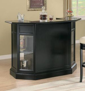 Black Bar Unit with Beveled Top $625- SALE! Best Deal! for Sale in Sacramento, CA