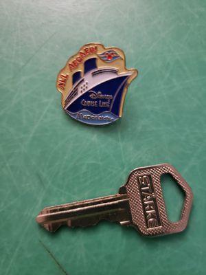 All Aboard Disney Cruise Line CREW MEMBERS Lapel Pin Collectible Enamel McDonald's for Sale in Hemet, CA