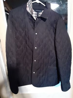 Womens large Burberry jacket for Sale in Oklahoma City, OK