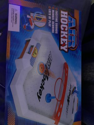 Battery powered air hockey for Sale in Newton, MA