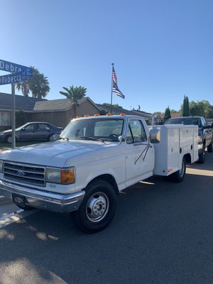 1990 Ford F350 Dooley utility truck. 4800 or best offer for Sale in Vista, CA