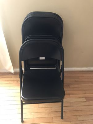 6 Metal chairs for Sale in Chantilly, VA