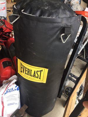 Everlast speed bag & punching bag for Sale in Austin, TX