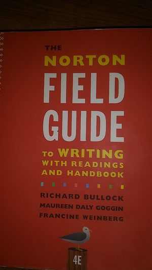 The Norton Field Guide to Writing 4e for Sale in New Britain, CT