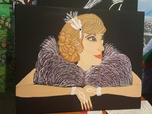 Original acrylic on canvas. for Sale in LAKE CLARKE, FL