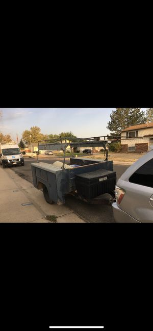 Trailer with compartments and ladder rack for Sale in Thornton, CO