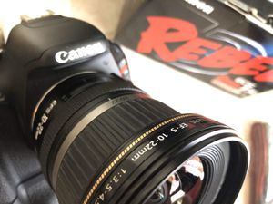 Canon T3i body lens and more for Sale in Coral Springs, FL