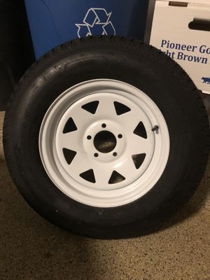 Trailer tires 205/75/D15 for Sale in Barrington, IL