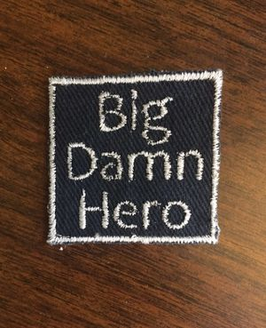 """Firefly / Serenity """"Big Dang Hero"""" Patch for Sale in Moreno Valley, CA"""