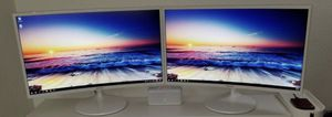Smasung 27 curved Monitors. for Sale in Las Vegas, NV