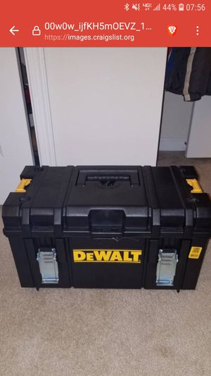NEW Dewalt tool case box for Sale in Ashburn, VA