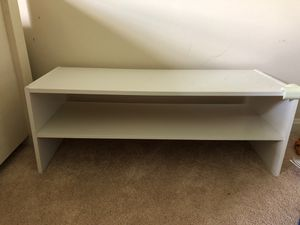 Low wood shelve for shoes for Sale in Rockville, MD