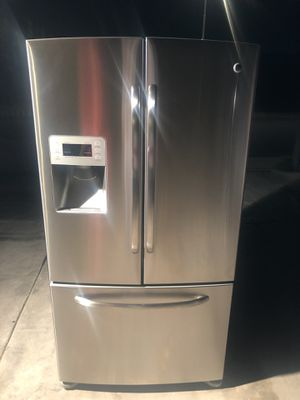 Refrigerator Ge stainless steel for Sale in Phoenix, AZ