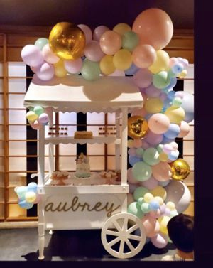 Balloon Garlands and Candy Cart for Sale in San Bernardino, CA