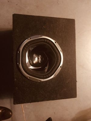 """10"""" xplod speaker w/amp for Sale in Jacksonville, FL"""