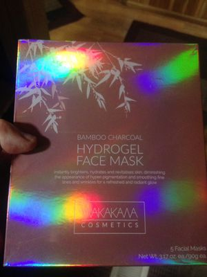 New bamboo hydrogel charcoal face masks for Sale in Pleasant Grove, UT