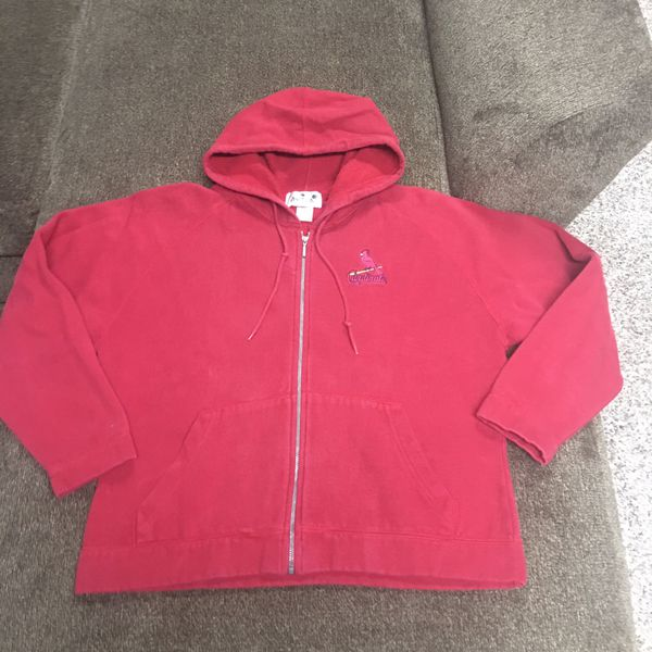 Women's medium cardinals hoodie