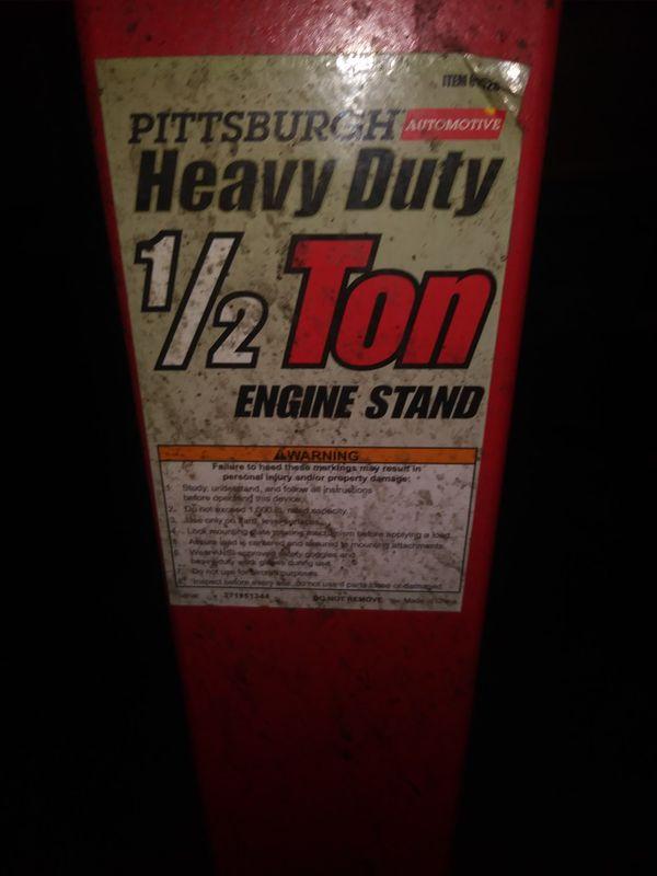 Pittsburg Heavy Duty Engine Stand