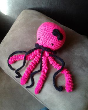 Amigurumi toy jellyfish crochet plushie for Sale in Las Vegas, NV