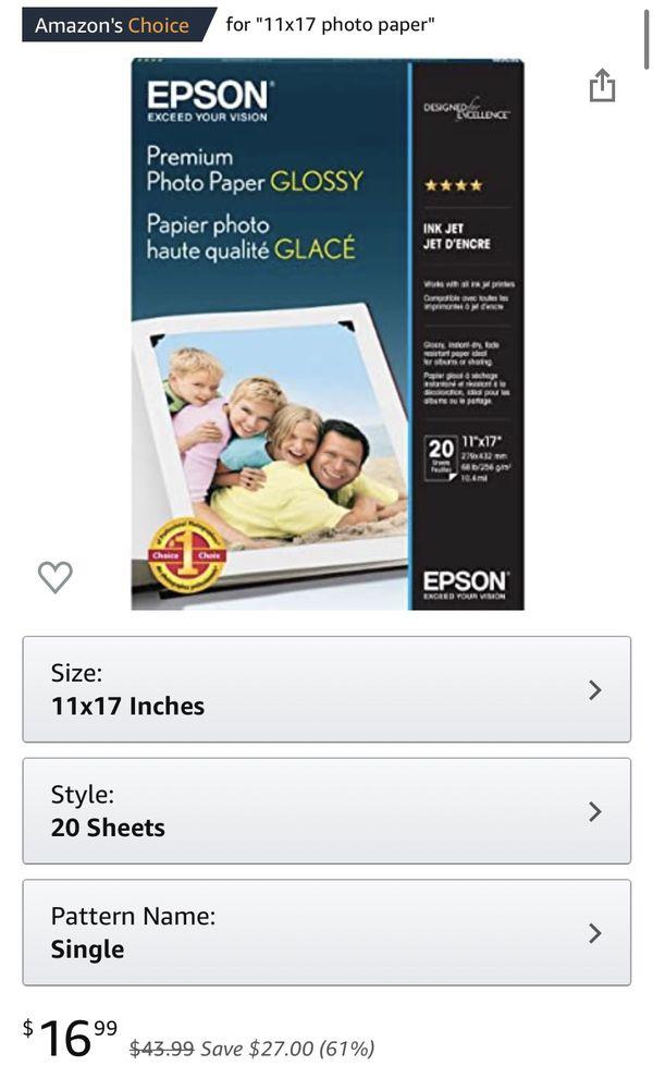 Epson Premium Photo Paper